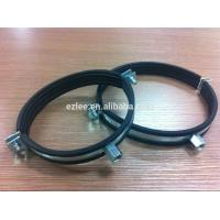 Quality Cushioned Steel Rubber Pipe Tube Loop Clamp for sale