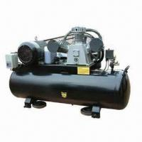 Quality Heavy-duty Air Compressor with 70mm Stroke, Belt Drive, 250L Tank and 370mm Wheel for sale