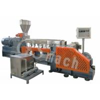 Quality Polyethylene Extruder Machine With Delta Inverter , Plastic Granules Making Machine  for sale