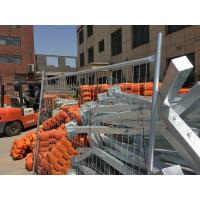 Quality Removable Temporary Fence Panels Construction Safety Fence High Security for sale