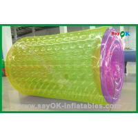 Quality PVC Funny Inflatable Water Roller Customized For Advertisement for sale