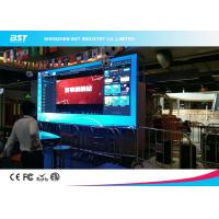 Quality P4mm Indoor Indoor Advertising LED Display Full Color High Brightness Ultra Thin Design for sale
