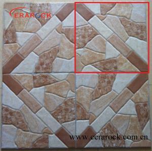 Quality Indoor ceramic floor tiles 400x400mm for sale