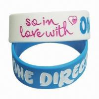 Quality Silicone Bracelet, Wholesale, Fashionable Design with Custom Logos, OEM Welcome for sale