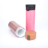 Quality Portable Ceramic Liner 0.48L Thermos Insulated Cup for sale