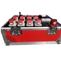 Buy Reflective And Noctilucence Eight Channel Rack Flight Case Of Motor Chain Hoist Power Case at wholesale prices