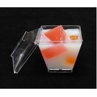 China disposable plastic dessert cup with lid Clear Disposable Plastic Dessert Tumbler Cups Small Party Cups for sale