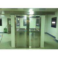 Quality Three Side Blowing Stainless Steel Pharmaceutical Cleanroom Air Shower System 380V 60HZ for sale