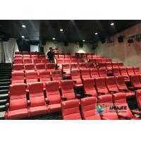 Quality Commercial Electric 4D Cinema Theater For Scenic Sport / 4D Amusement Park for sale