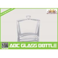 Quality 50ml Pure Perfume Clear Glass Bottle for sale