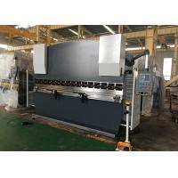 Quality Double Guided Ram Hydraulic NC Press Brake Machine With Safety Light Curtain for sale