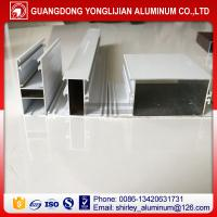 Quality Powder coated white color auminum extrusion window profiles Ghana market for sale
