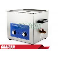 Quality Ultrasonic Cleaner 15L 360W AC110 / 220V PS-60 Circuit Board , Metal Parts Cleaning Equipments for sale