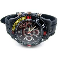 Quality Waterproof Design 3ATM Hidden Spy Camera Watch CEE - Q5 With 1GB - 32GB Memory for sale