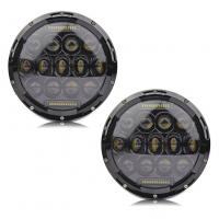 Quality High Performance 6000K 80W / 2pcs Jeep Wrangler Led Headlights IP68 For Jeeps for sale