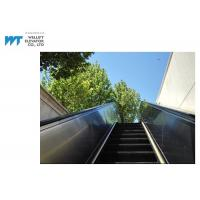 Quality PLC Drive Outdoor Escalator Safety Hot Dipped Galvanized Truss Black Handrail for sale