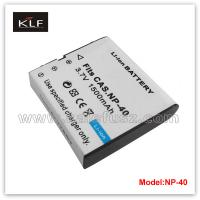 China Camera Battery NP-40 For Casio on sale