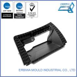 Quality IATF 16949 Auto Trim Molding , Custom Car Plastic Injection Molds Black for sale