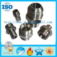 Stainless steel hydraulic fittings,Stainless steel hydraulic pipe fittings,Stainless steel threading connecting end