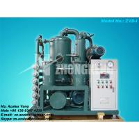 Quality Series ZYD-I Double-stage Vacuum Insulating Oil Regeneration Purifier for sale