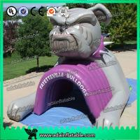 Quality Inflatable Bulldog Animal Event Advertising Inflatable Tunnel for sale