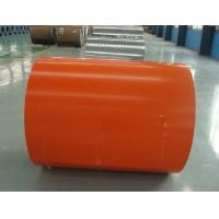 Buy 750mm - 1250mm Z60 to Z27 Zinc Coating Red / Blue Prepainted Color Steel Coils / Coil at wholesale prices