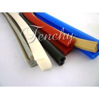Quality Waterproof Flexible Silicone Seal Strip Dust Resistant , Shore 60A To 90A for sale