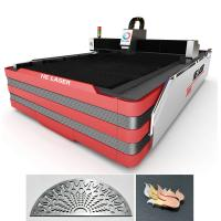 Quality 700 Watt Stainless Steel Fiber Laser Cutting Machine 0.2mm - 10mm Cutting Thickness for sale