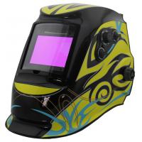 Quality Solar Powered Auto Darkening Welding Helmet , Auto Tint Welding Helmet CE Approved for sale