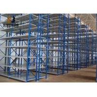 China Galvanized Corrosion Protection Medium Duty Shelving / Industrial Metal Racks on sale