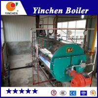 Quality Laundry Diesel Steam Boiler / Natural Gas Fired Boiler Remote PLC Control for sale