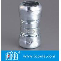 Quality Zinc Plated Steel EMT Compression Coupling , EMT Coupling 1/2 Inch To 4 Inch for sale