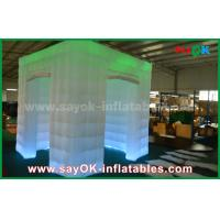 Buy cheap Green Color Inflatable Led Photo Booth For Wedding / Club / Party from wholesalers