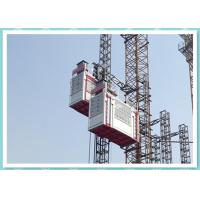 Quality Double Cage Passenger And Material Hoist 2700kg Construction Elevator for sale