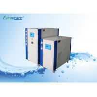 Quality Lower Speed Water Cooled Water Chiller Scroll Commercial Chiller Units 145KW for sale