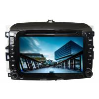 Quality Car radio in car audio gps dvd navigation system with screen sat nav for fiat 500 for sale