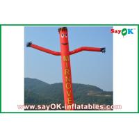 Quality Red Rip-stop Nylon Durable Advertising Inflatable Air Dancer / Sky for sale