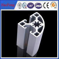 Quality 6000 series industrial aluminum alloy profile for shelf/cabinet for sale