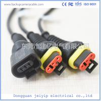 China Bus Internal 16 Pin Terminal Cable , Vehicle Interior Automobile Anti Plug-In Cable on sale