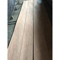 Buy cheap Natural Figured American Cherry Wood Veneer Sheet from wholesalers
