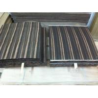 Quality Natural Amara Ebony Flooring Veneer, Sliced Wood Veneer for sale