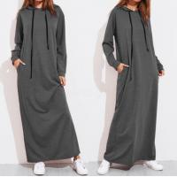 Quality Long Sleeve Plus Size Ladies Shirts Long Hoodie Dress For Girls Eco Friendly for sale