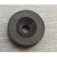 China Custom Ceramic Ferrite Pot Magnet with Countersunk Hole D15.2 X H6 X d3.2 X d8 for sale