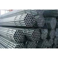 Quality Carbon Steel ERW Steel Pipe ASTM A53 API 5L SCH40 , ISO BV Hollow Steel Tubes for sale