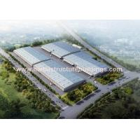 Two Story Prefabricated Steel Warehouse Steel Modular Buildings Easy Install for sale
