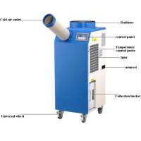 Low Noise Design Spot Air Cooler 18℃-45℃ 11900 btu Low Power Consumption for sale