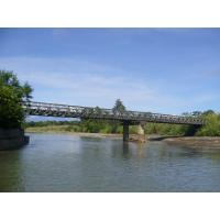 Quality Prefabricated Delta Bailey Bridge High Stiffness For Commercial for sale