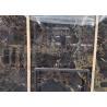 Athens Golden flower marble gloss floor tiles big slab for sale