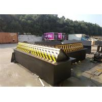 Buy Vehicle Control Automatic Rising Electro Hydraulic Road Blocker 70T Axis Loading at wholesale prices