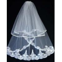 Quality Lace and Tulle Wedding Veil 0018 for sale